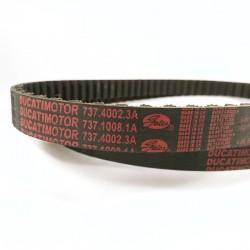 Cagiva Elefant 900 cam belt belts 2V kevlar Ducati tandriemen zahnriemen closeup